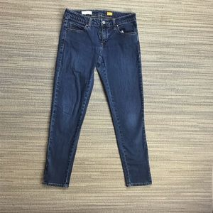 Pilcro and the Letterpress Low Rise Straight Jeans